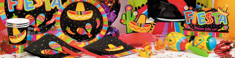 Fiesta Fun Beverage Napkins 16ct
